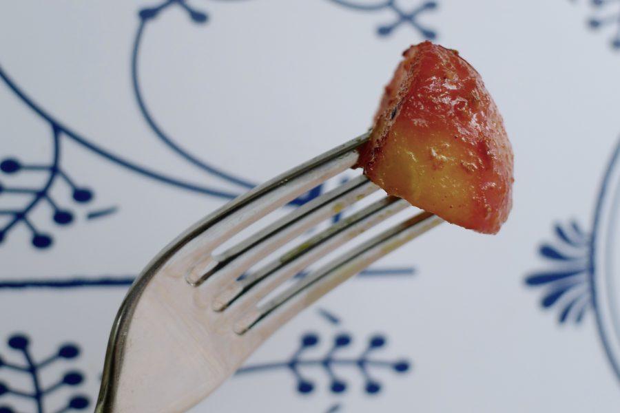 Gebakken radijsjes met bosuitjes recept ~ minder koolhydraten, maximale smaak ~ www.con-serveert.nl