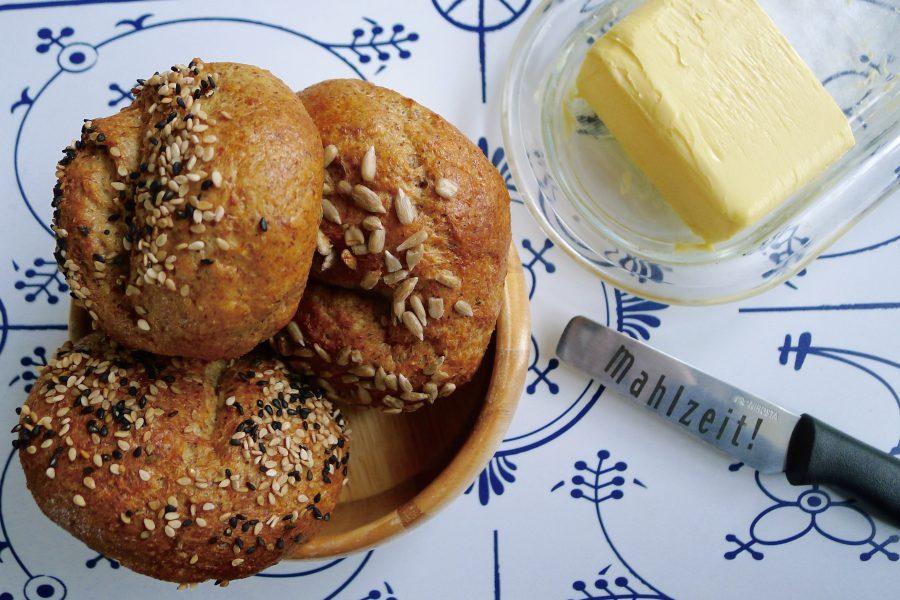 Koolhydraatarme broodjes recept ~ minder koolhydraten, maximale smaak ~ www.con-serveert.nl