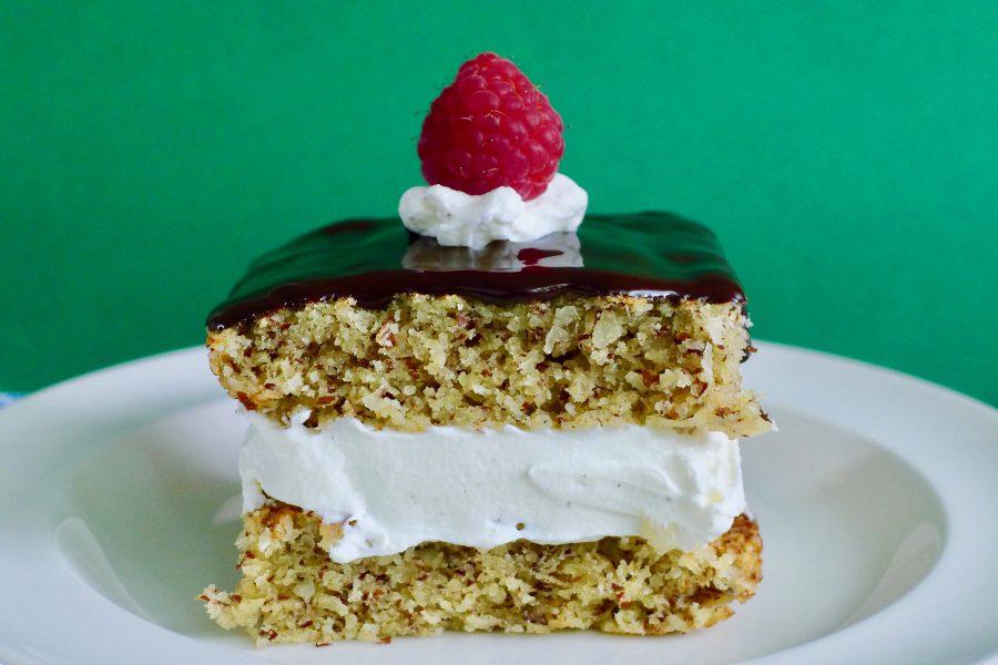 Moorkop tompouce taartje, koolhydraatarm en glutenvrij recept ~ minder koolhydraten, maximale smaak ~ www.con-serveert.nl