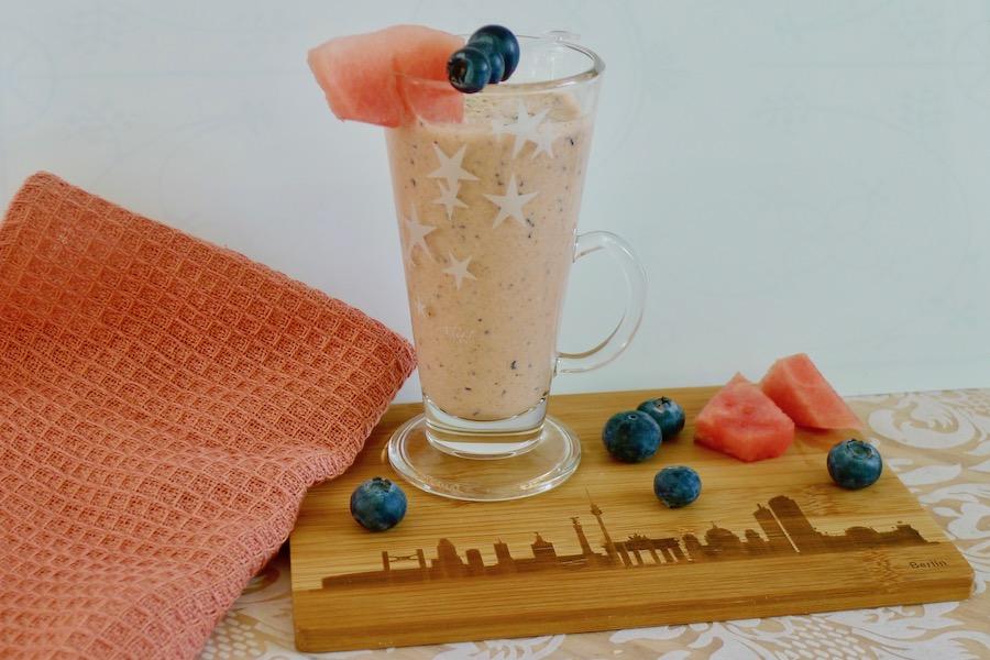 Kefir watermeloen drink recept ~ minder koolhydraten, maximale smaak ~ www.con-serveert.nl