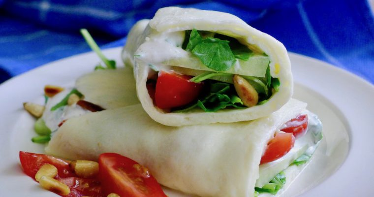 Mozzarella wrap, koolhydraatarm