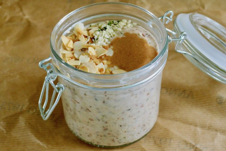 Amandel N'oats, koolhydraatarme havermout recept ~ minder koolhydraten, maximale smaak ~ www.con-serveert.nl