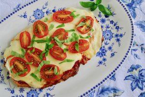 Pizza met haverzemelen, koolhydraatbeperkt recept ~ minder koolhydraten, maximale smaak ~ www.con-serveert.nl