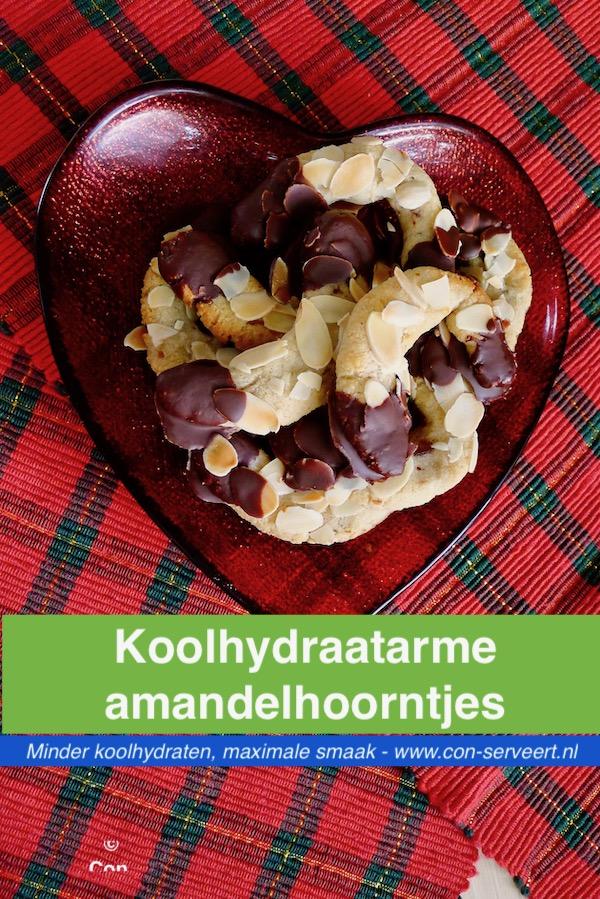 Amandelhoorntjes uit Duitsland, koolhydraatarm recept ~ minder koolhydraten, maximale smaak ~ www.con-serveert.nl