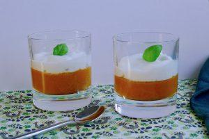 Pompoen cappuccino soepje, koolhydraatarm recept ~ minder koolhydraten, maximale smaak ~ www.con-serveert.nl