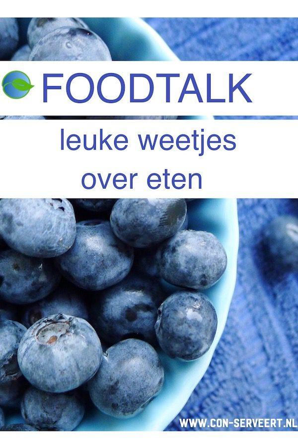 Foodtalk, leuke weetjes over eten ~ minder koolhydraten, maximale smaak ~ www.con-serveert.nl