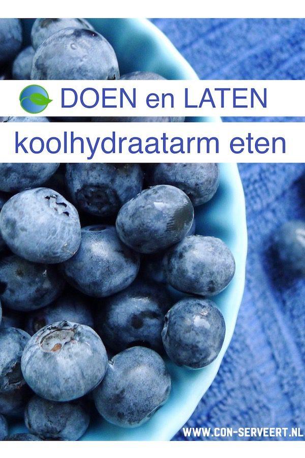Koolhydraatarm eten, wat wel en wat niet ~ minder koolhydraten, maximale smaak ~ www.con-serveert.nl