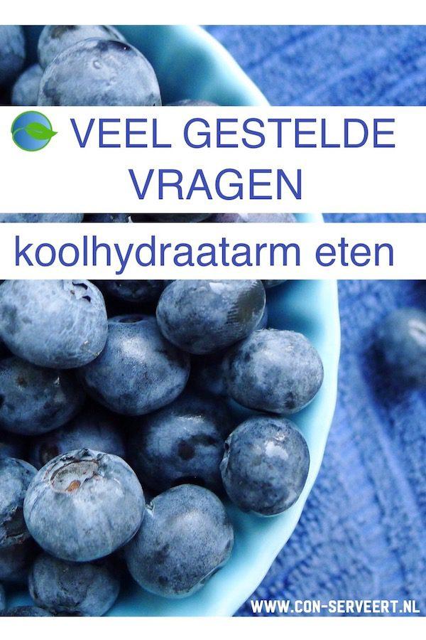Koolhydraatarm eten, veel gestelde vragen ~ minder koolhydraten, maximale smaak ~ www.con-serveert.nl