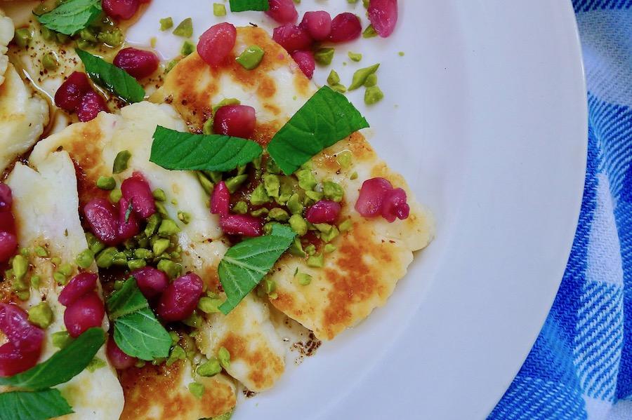 Arabische halloumi recept ~ minder koolhydraten, maximale smaak ~ www.con-serveert.nl