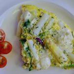 Frittata met asperges en blauwe kaas recept ~ minder koolhydraten, maximale smaak ~ www.con-serveert.nl