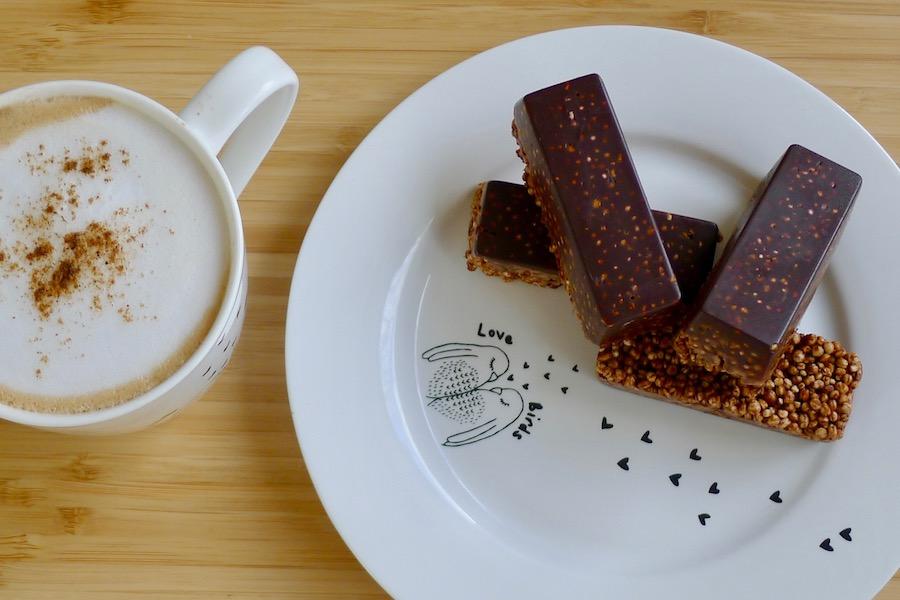 Gepofte quinoa repen recept ~ minder koolhydraten, maximale smaak ~ www.con-serveert.nl