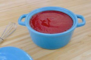 Koolhydraatarme ketchup recept ~ minder koolhydraten, maximale smaak ~ www.con-serveert.nl