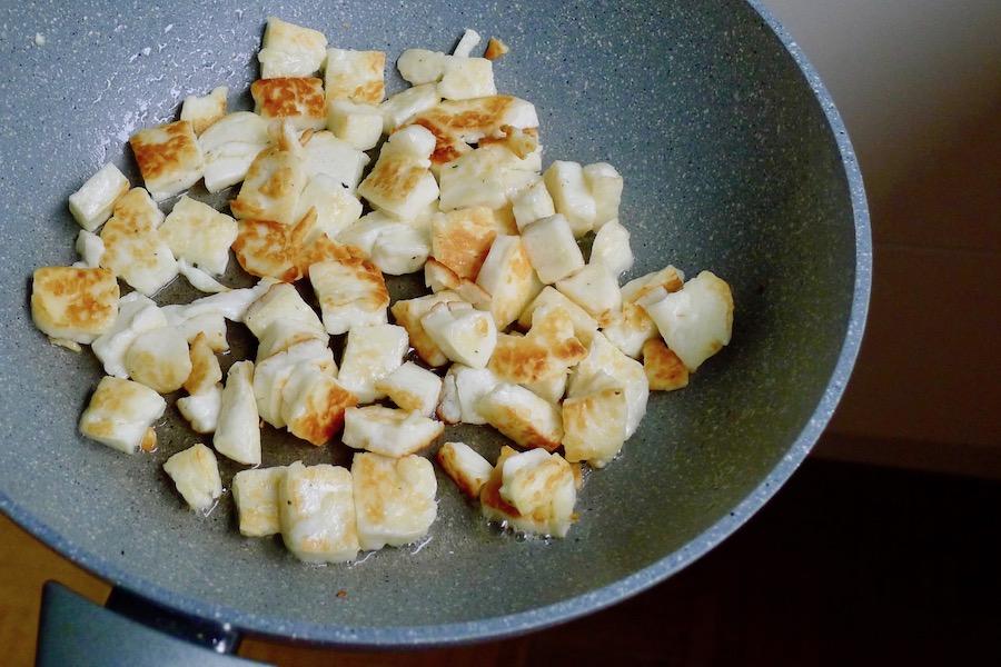 Halloumi recept ~ minder koolhydraten, maximale smaak ~ www.con-serveert.nl