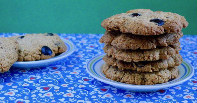Tijgernoten chocolade koekjes
