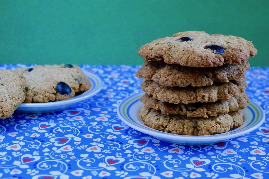 Tijgernoten chocolade koekjes recept ~ minder koolhydraten, maximale smaak ~ www.con-serveert.nl