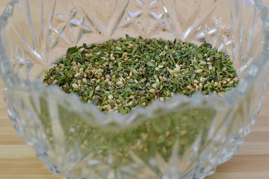 Zaatar, Arabische kruidenmix recept ~ minder koolhydraten, maximale smaak ~ www.con-serveert.nl