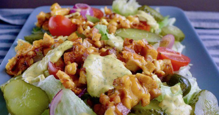Vegetarische Big Mac salade