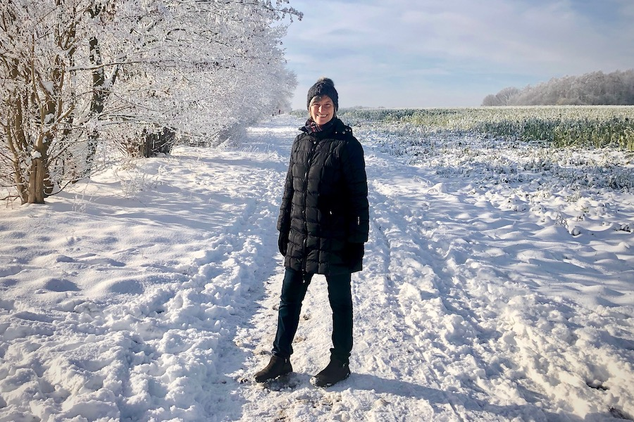 Wandelen in de sneeuw in Duitsland ~ minder koolhydraten, maximale smaak ~ www.con-serveert.nl