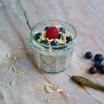 Bosvruchten chia pudding recept ~ minder koolhydraten, maximale smaak ~ www.con-serveert.nl