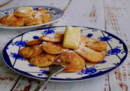 Keto poffertjes, glutenvrij recept ~ minder koolhydraten, maximale smaak ~ www.con-serveert.nl