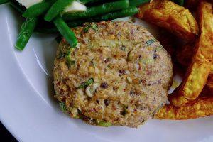 Sardine burgers, glutenvrij en koolhydraatarm recept ~ minder koolhydraten, maximale smaak ~ www.con-serveert.nl