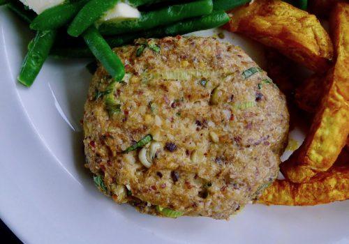 Sardineburgers, glutenvrij en koolhydraatarm recept ~ minder koolhydraten, maximale smaak ~ www.con-serveert.nl