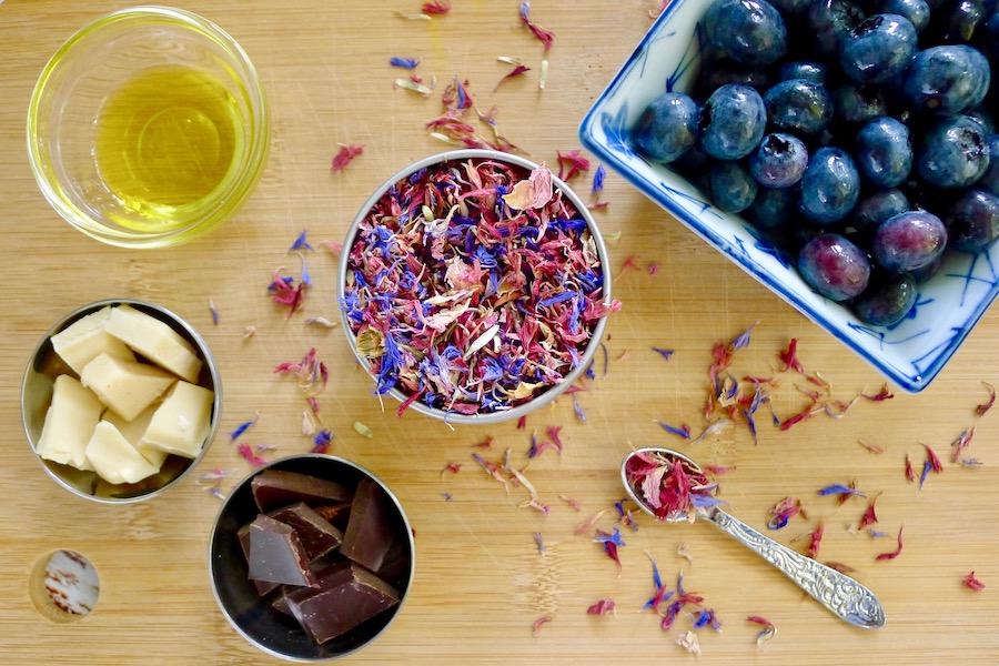 """Bosbessen """"rotsjes"""", koolhydraatarm recept ~ minder koolhydraten, maximale smaak ~ www.con-serveert.nl"""